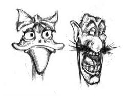 Прикольные рисунки карандашом видео