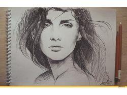 Красивые рисунки карандашом картинки