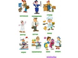 Картинки для детей что нужно для работы повару