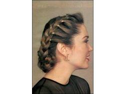 Плетение волос фото прически