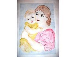 Поделки и рисунки к дню матери