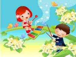 Картинки весна для детей детского сада