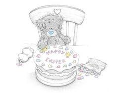С днем рождения мишки картинки