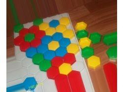 Мозаика картинки для детей схемы