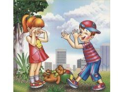 Правила этикета для детей в картинках