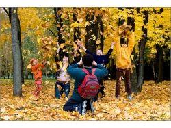 Семья осень фото