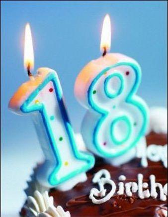 Поздравления 18 летием смс