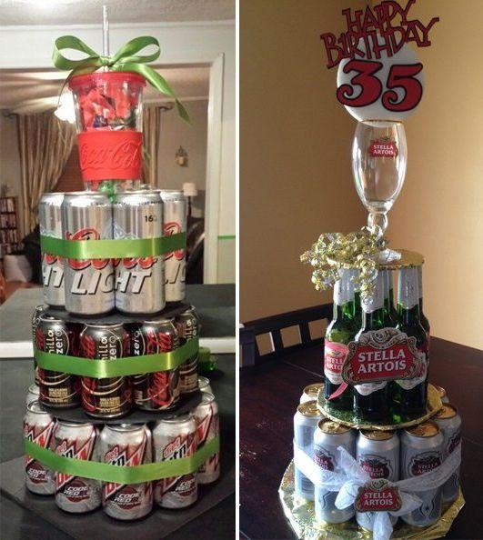 Как сделать торт из пива для мужа на