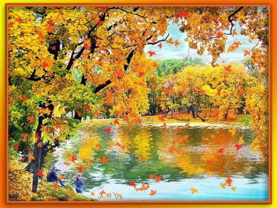 Картинки осень красивая анимация