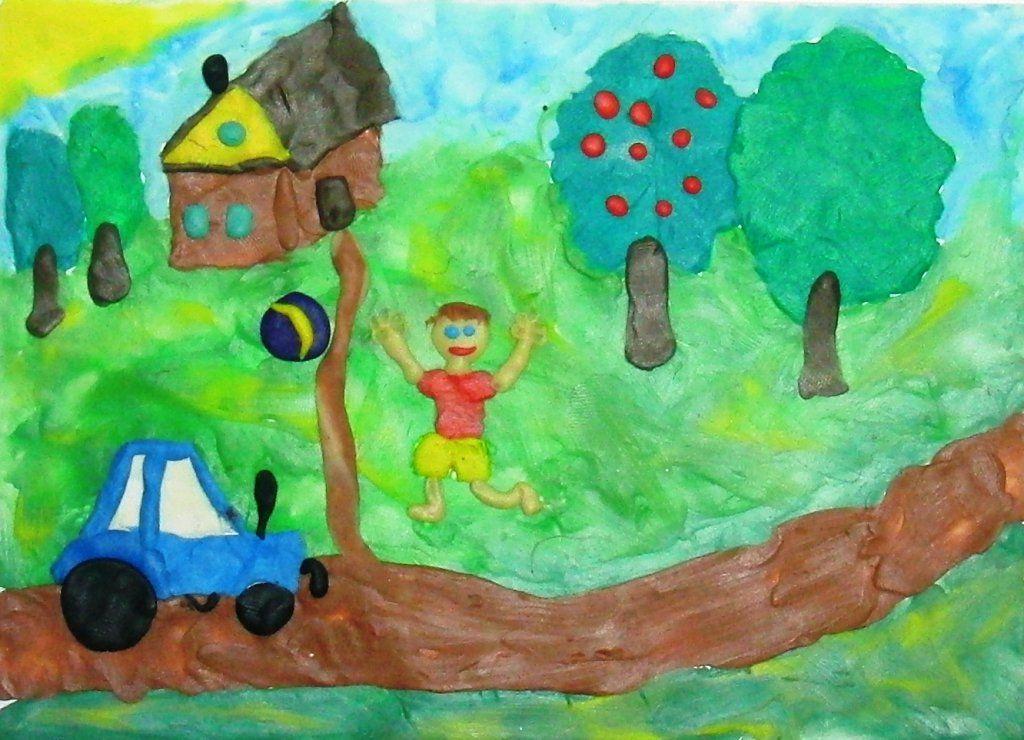 детские рисунки о безопасности