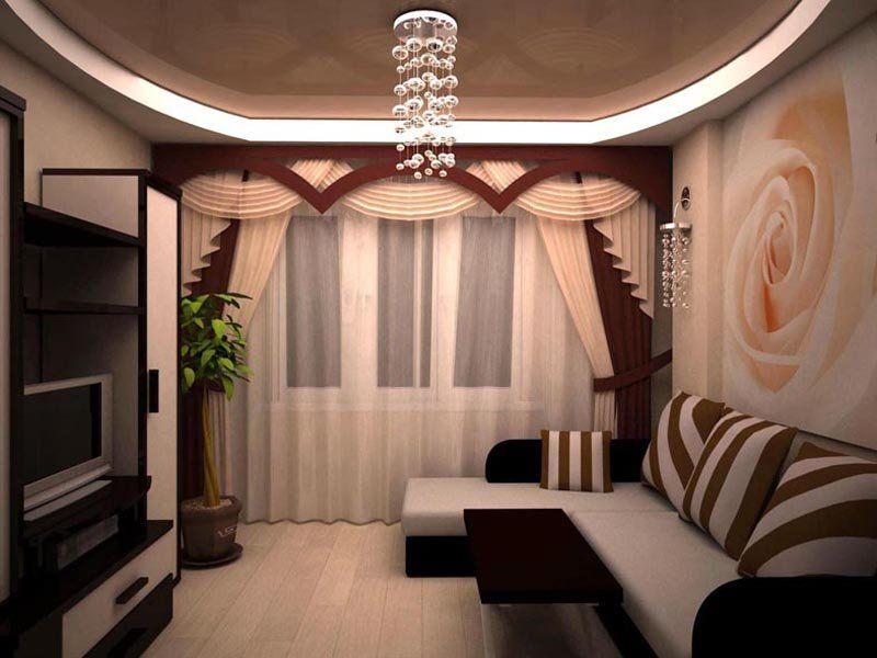 Дизайн зала недорого