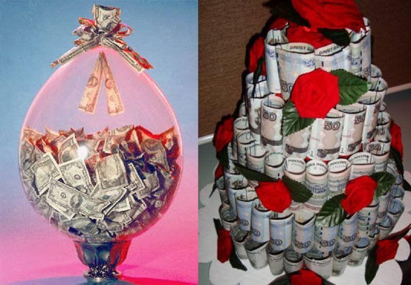 Фото оригинальных подарков на свадьбу