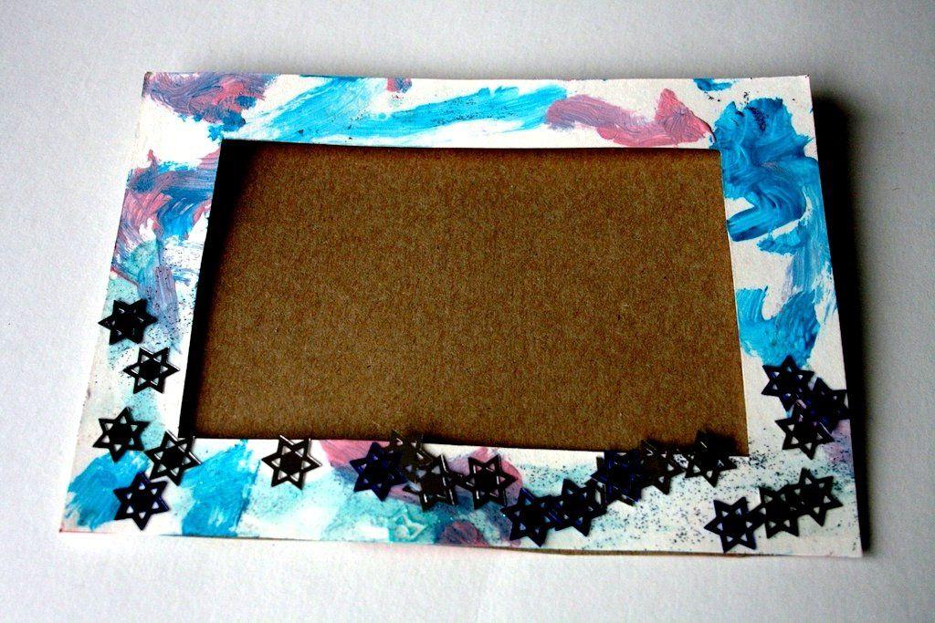 Сделать рамку своими руками картона