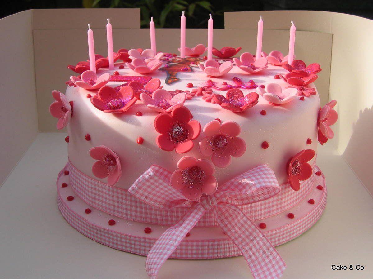 Красивые торты на день рождения для детей