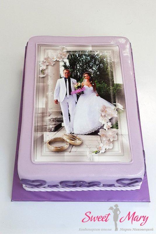 Торт к годовщине свадьбыы с фото