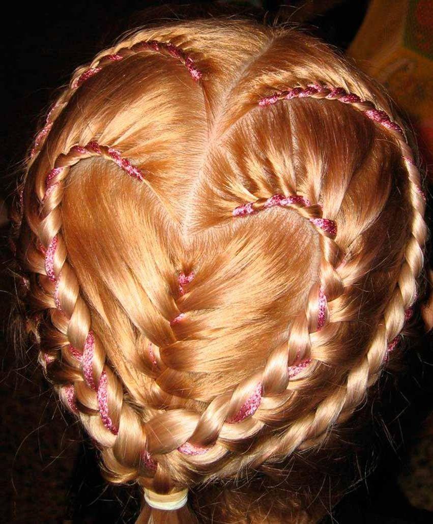 Фото прически заплетение кос