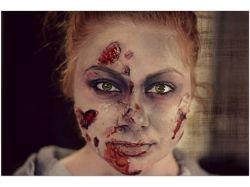 Хэллоуин фото макияж 3