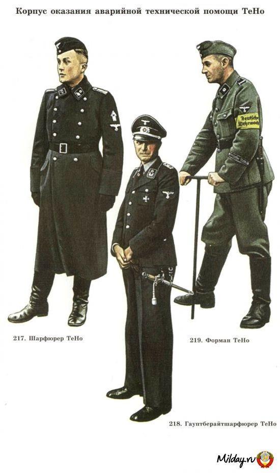 Одежда 3-его рейха