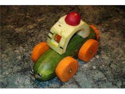 Фото поделки из фруктов 1