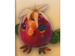 Фото поделки из фруктов 6