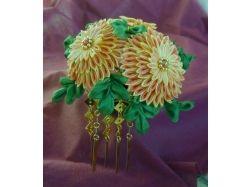 Канзаши фото цветы 5