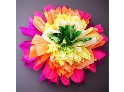 Фото цветы из бумаги 2
