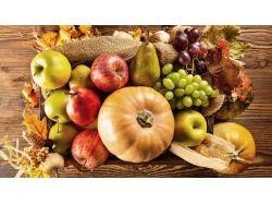 Осенние овощи и фрукты 3