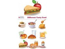 Рисунки еды 1