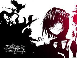 Бесплатные картинки аниме эльфийская песнь 2