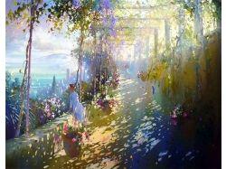 Картины известных художников осень 6