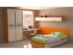 Оранжевый интерьер картинки 2
