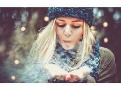Девушка фото зима 6