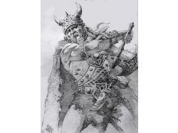 Рисунки викингов 3