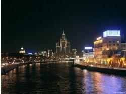 Москва ночью фото 4