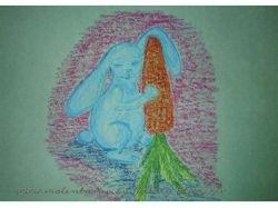 Картинки зайчика для детей 5