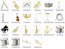 Музыкальные инструменты рисунки 5
