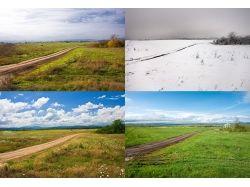 Картинки лето зима весна осень 4
