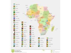 Флаги африки 1