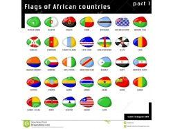 Флаги африки 2