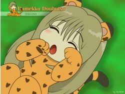 Картинки аниме животные 3