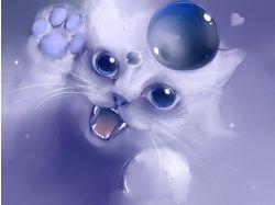 Картинки аниме животные 6