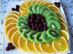 Сервировка стола фрукты фото 3