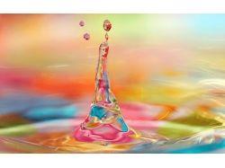 Картинки вода капля 1