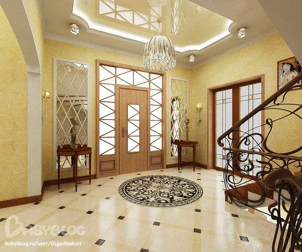Дизайн холодного коридора в частном доме