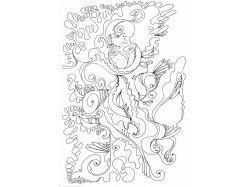 Рисунок карандашом цветы 1