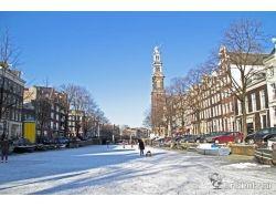 Амстердам зимой 1