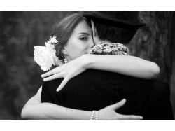 Любовь картинки черно белые 6