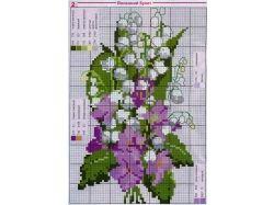 Картинки для вышивания крестиком схемы 1