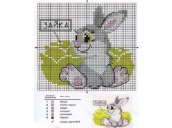 Картинки для вышивания крестиком схемы 5