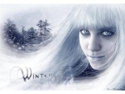 Фото зима девушка 2